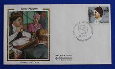 """Canada (1048) 1985 Emily Murphy Colorano """"Silk"""" FDC"""