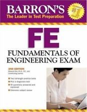 Barron's FE: Fundamentals of Engineering Exam Olia  Ph.D. , Masoud Paperback Us