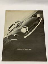 Vintage 1968 FIAT 124 Spider Sports Coupe Car Ad Automobile Collectibles