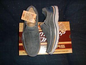 SKECHERS Expected  Avillo  Man Shoes Blue 9.0US  NIB