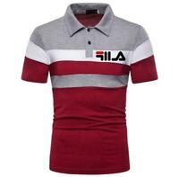 Polo modello Fila uomo manica corta TG XXL/3XL shirt man nuova multicolor unica