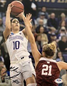 Kelsey Plum Signed Autographed Washington Las Vegas Aces 8x10 Photo Psa/Dna