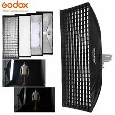 Godox 50x130cm Bowens Mount Softbox with Grid For Studio Strobe Flash Speedlite