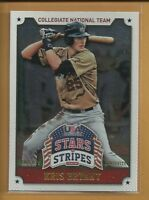 Kris Bryant RC 2015 USA Baseball Stars & Stripes LONGEVITY Rookie Card # 59 Cubs