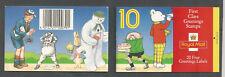 GREAT BRITAIN SCOTT 1479-1488a  SG KX5 1993 Greetings Booklet PO Fresh Mint NH