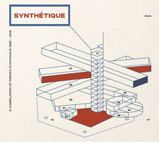 V/A - SYNTHETIQUE French Synthwave ADN' Ckrystall Philippe Laurent MINIMAL SYNTH