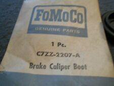 NOS 1967 FORD MUSTANG / SHELBY FRONT DISC BRAKE CALIPER BOOTS C7ZZ-2207-A FOMOCO