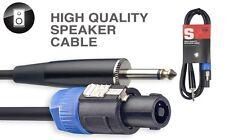 Adapter Lautsprecher-Kabel PA-Steckverbinder / Klinke, 2 m, G8