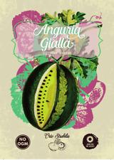 anguria gialla,citrullus lanatus, semi rari,semi strani,gr 1 25/30 semi