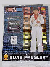 Size 2-4 Child Rock Star Elvis White Halloween Costume School Party Theater