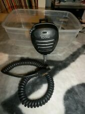 ICOM HM-138 Microphone VHF Marine Radio Émetteur Récepteur Speacker Microphone