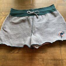NFL Miami Dolphins Women's Shorts-Sweatshirt Material-XL-GUC