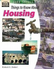 Life Skills Literacy: Things To Know About Housing:grades 7-9