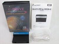 MSX C-DRIVE KIT NT-C01 Network Adapter II MSX2/2+ Import Japan Game 20130 msx