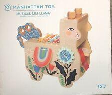 Manhattan Musical Lili Llama Wooden Preschool Toddler Xylophone Activity Toy NEW