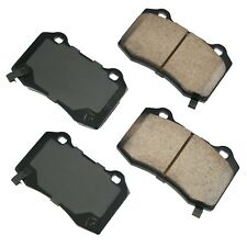 For Cadillac CTS Chevy Camaro Dodge Magnum Charger Rear Disc Brake Pads Akebono