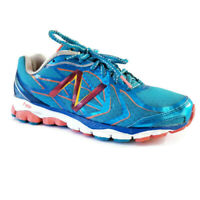 New Balance 1080v4 Womens Sz 8.5 D Wide Turquoise Blue Orange Running Shoes