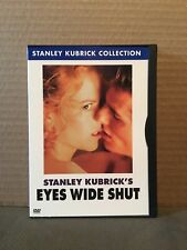 Eyes Wide Shut Dvd Stanley Kubrick Tom Cruise Nicole Kidman Used Like New