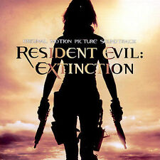 ~DAMAGED ARTWORK CD Various: Resident Evil: Extinction (OST) Soundtrack
