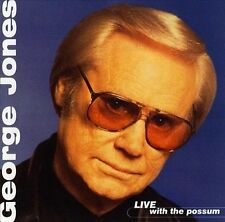 George Jones Live With The Possum  CD Album in Very Good Condition