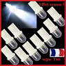 AMPOULES LED W5W BLANC XENON VEILLEUSE T10 PUSH WEDGE LIGHT BULB WHITE