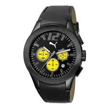 Puma Men's Race Luminous Chrono Blk Watch #PU101961003