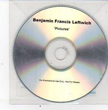 (DS434) Benjamin Francis Leftwich, Pictures - 2011 DJ CD