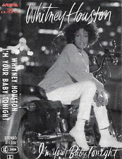 WHITNEY HOUSTON I'M YOUR BABY TONIGHT CASSETTE ALBUM Electronic Downtempo, Disco