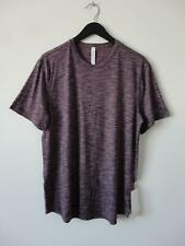 Nwt Lululemon Bchr Burgundy Lightweight Fresh Move Ss Shirt Top Men's Xl