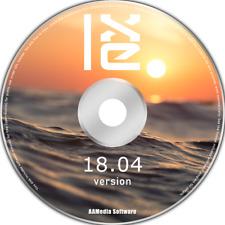 LXLE 18.04 LTS Desktop 64bit Live Bootable DVD Rom Linux Operating System