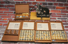 Vintage Kingsley Hot Foil Stamping Machine and Type LOT