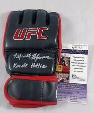 Michelle Waterson Autographed Glove JSA COA Signed UFC Autograph Topps MMA 2 FOX