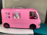 Barbie Deam Camper Pop out RV 2016 Mattel