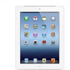 Apple iPad 3rd Gen. 64GB, Wi-Fi, 9.7in W/Retina Display- White-Good Condition