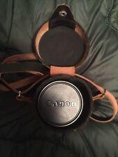 Vintage Canon Lens - 135mm 1:3.5 - no. 94288 - Leather Case