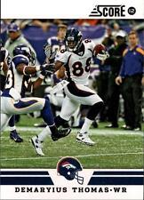 2012 Score Glossy #181 Demaryius Thomas Broncos