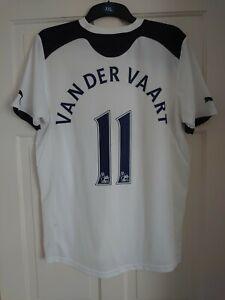 Tottenham Hotspur Spurs Puma 2010/2011 Van Der Vaart Home Shirt Jersey - Small