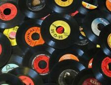 50 Real Vinyl 7 Inch 45 Rpm Single Records For Crafting