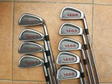 Mint Wilson1200 GE midsize irons 3-S Reg steel shaft. New grips. PGA Pro seller