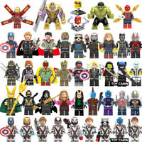 42Pcs/lot New Heroes Super Infinity Mini Figure Block