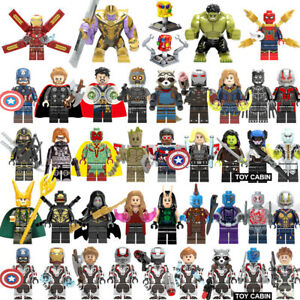 42Pcs/lot New Super Heroes Marvel Avengers Super Infinity Mini Figure Block