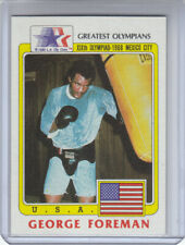 1983 Greatest Olympians Card #19 George Foreman        ^^