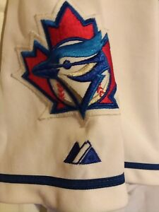 Authentic Carlos Delgado #25 Toronto Blue jays jersey made by majestic