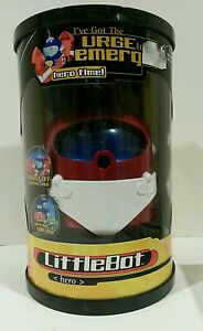 JOHNNY LITTLE BOT HERO INTERACTIVE ROBOT TOY BLAST OFF SHELL Brand New Sealed
