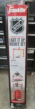 Franklin NHL Light It up Hockey Goal Set