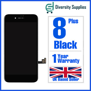 Apple iPhone 8 Plus Black LCD Screen Digitizer Display Replacement OEM 3D Touch