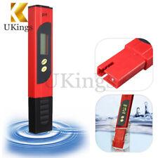 Digital Pocket LCD PH Meter Tester Pen Hydroponics Aquarium Pool Water Measure