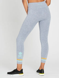 SOUL BY SOULCYCLE Seamless Skull Jacquard Tight Size S