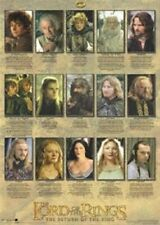 Lord Of The Rings ~ Character Biographies 22x34 Movie Poster New/Rolled!