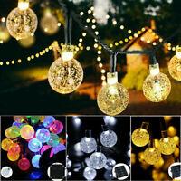20/30/50 LED boule solaire fête fée en plein air Retor boule chaîne lumière